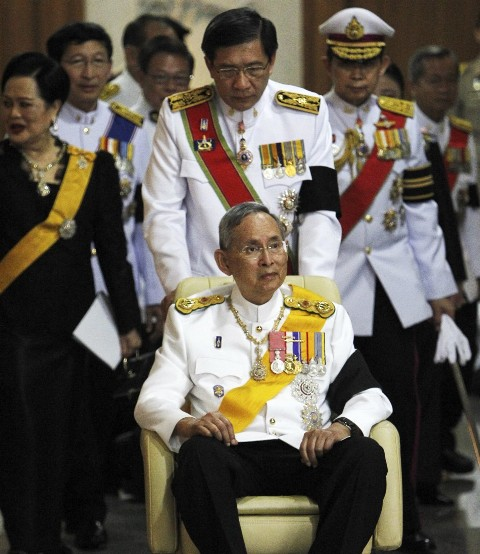 Their Majesties the King and Queen Preside over Cremation of Late Princess Bejaratana