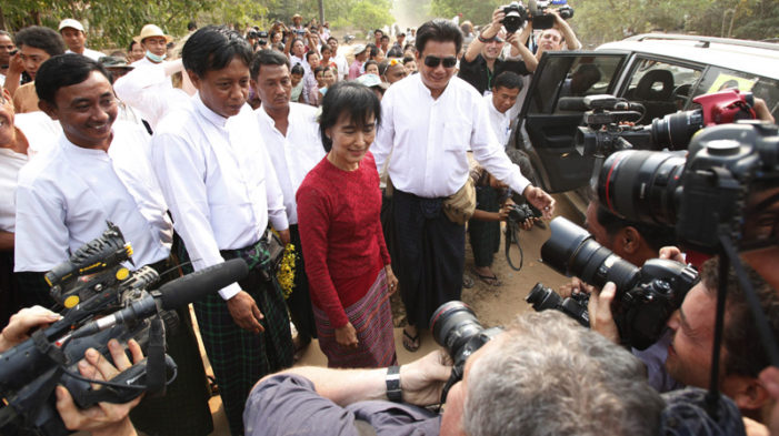 Aung San Suu Kyi Elected to Myanmar's Parliament