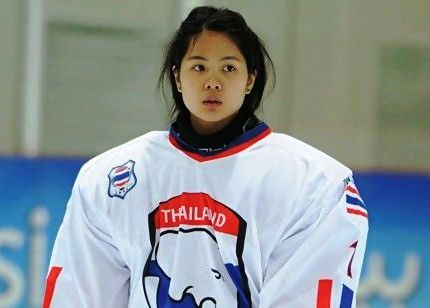 Girl Hockey Goalie makes a Difference for Thailand