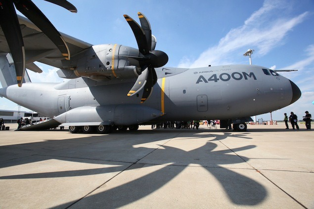 Airbus Military A400M First Visit to Thailand