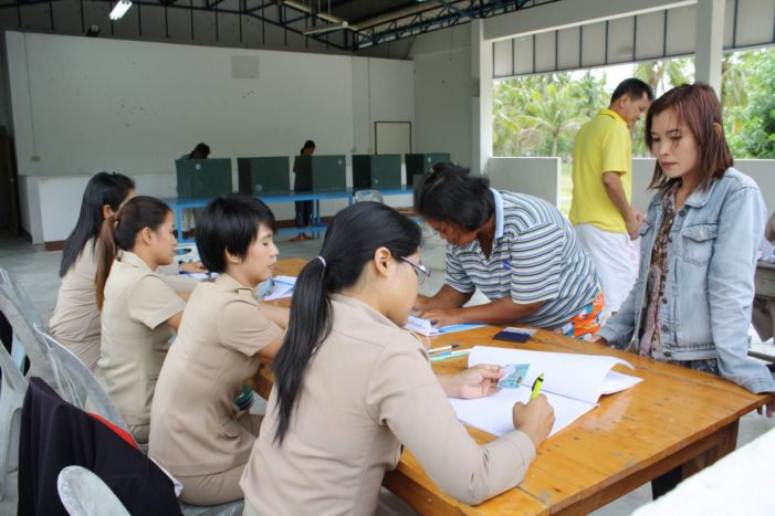 The Election for the Chiang Rai Provincial Administration Organisation