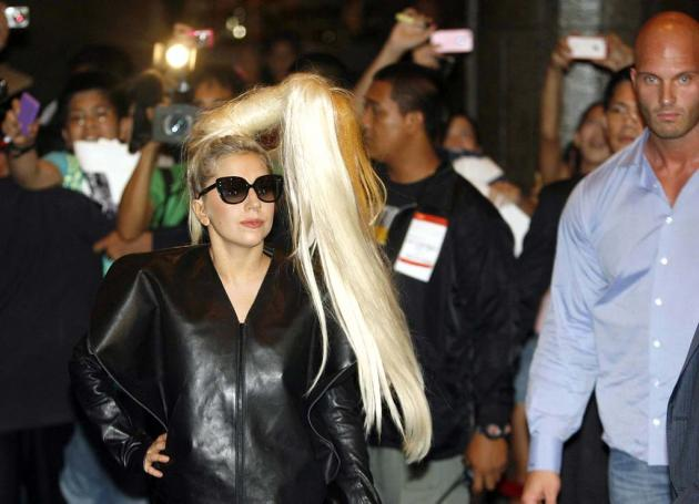 Tight Security for Lady Gaga