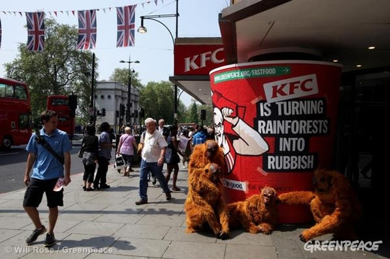 Yum Restaurants International (KFC) Thailand Reacts to Greenpeace