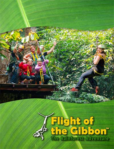 Flight of the Gibbon Zipline and IMM Hotels Team Up