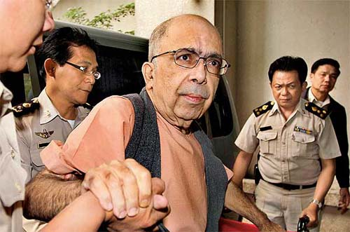 The Thai Courts have Sentenced Indian Financier Rakesh Saxena for 10 years on Friday for Massive Embezzlement