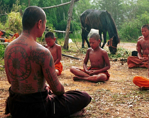 Reality TV Featuring Boys Entering Monkhood Hits Thailand