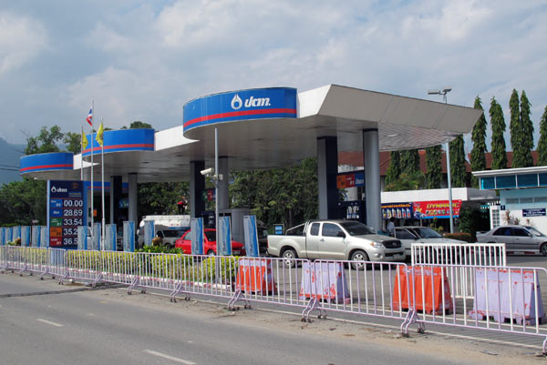 Teenagers Rob Petrol Station Near Chiang Rai Bus Terminal