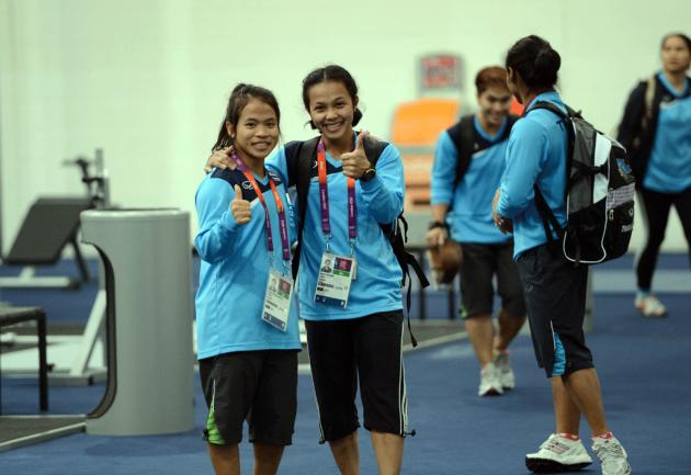 Thai Athletes Ready to Go for Gold at 2012 London Olympics