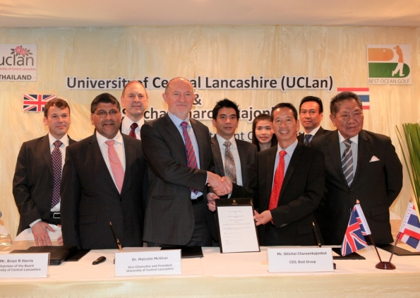Thailand to Get University of Central Lancashire Campus