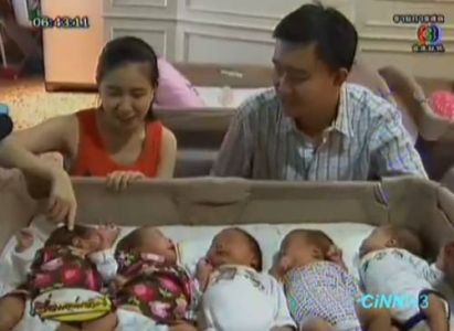 First Sextuplets Born in Thailand