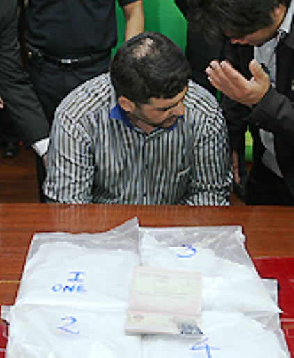 "Iranian Racho Boroman arrested at Thai Airport with four Kilogrammes of Crystal Meth ""Ice"""