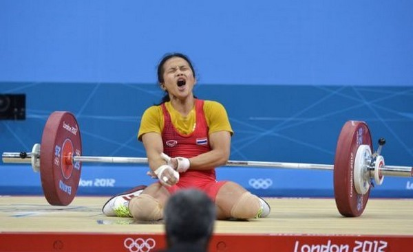 Thailand's First Medal Chance Slipped through the Fingers of Panida Khamsri