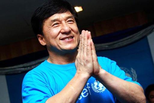 Jackie Chan gives $200,000 USD to Thailand Charities