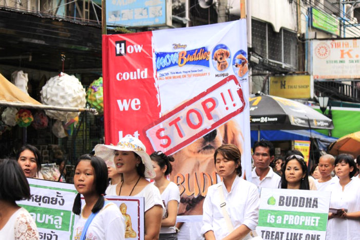 Thai Protesters want Disney to Show more Respect for Buddha