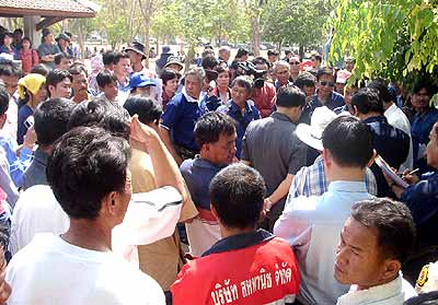 Longan Farmers from Chiang Rai Protest for Higher Prices