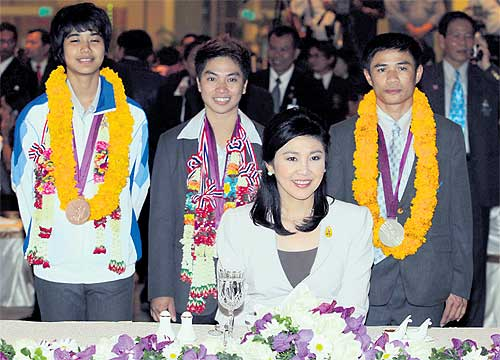 Thailand's Medallists Return to Hero's Welcome