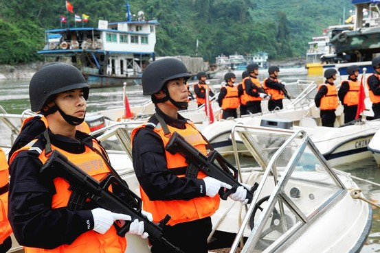 Thailand, Myanmar, Laos and China have Launched their Fifth Mekong River Patrol