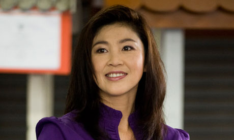Yingluck Shinawatra says Country will Promote Women's Rights