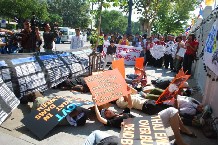 Northern Thai Rally against Mega Power Dam Projects