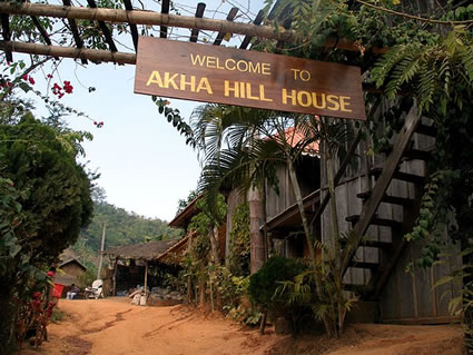 Akha Hill House and River House Adventures ChiangRai