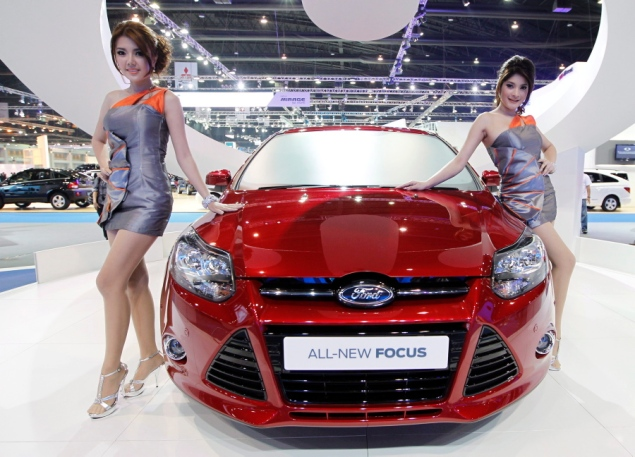 Thailand Made Ford Focus is Best-Selling Car