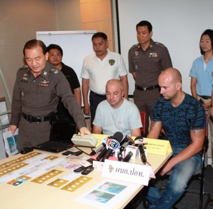 Bulgarians Busted in Bangkok for ATM Scam