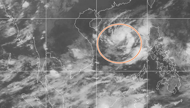 Tropical Storm Set to Dump Heavy Rains on Thailand this Weekend