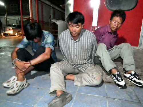 Police arrested 3 men from Chiang Rai with 62 Kilos of Crystal Methamphetamine