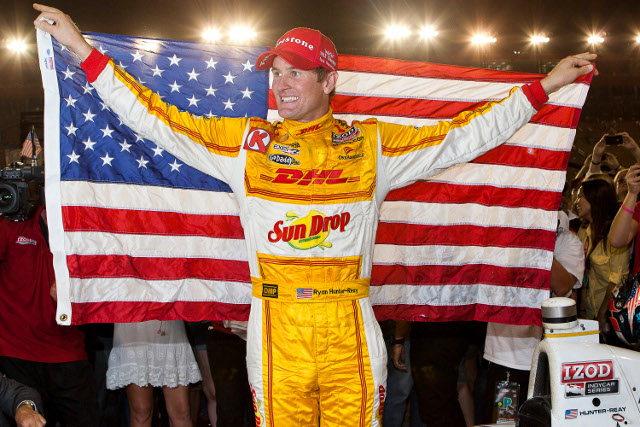 Ryan Hunter-Reay added to Race of Champions 2012 in Thailand