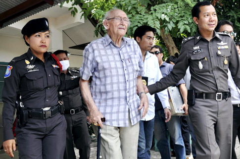 93-year-old Australian man facing  sexual assault charges in Northern Thailand