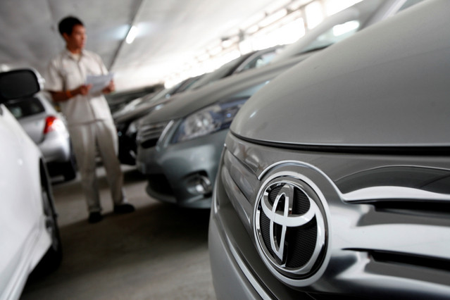 160,000 Toyota's in Thailand Part of Factory Recall