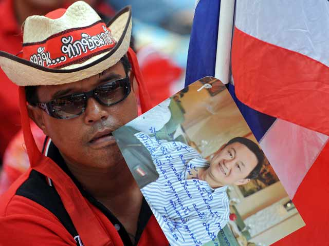 Thousands of Thaksin Supporters Head to Chiang Rai Boarder Town Tachilek Myanmar