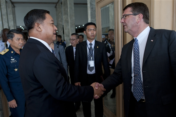 Thailand and US Conduct Defense Talks