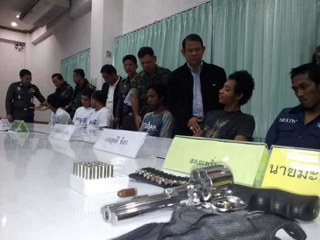 7 Suspected Insurgents Arrested in Pattani by Military Troops