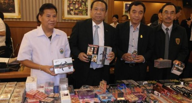 Perverts Crying, Police Seize 10 Million Baht in Sex Toys and Drugs