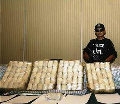 Chinese National Held after Major Drugs Bust