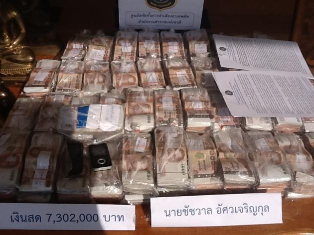 National police chief General Adul Saengsing-kaew said police in Chiang Mai and Chiang Rai had seized Bt250 million in assets that reportedly belonged to alleged Golden Triangle drug lord Nor Kham. Nor was sentenced to death by a Chinese court in November for murdering 13 Chinese sailors on the Mekong River.