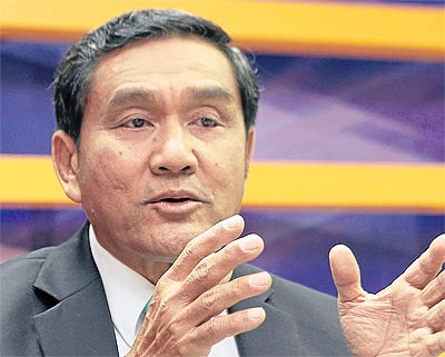 'We must be patient and constantly deny the temptation of corruption.' DUSIT NONTANAKORN, Late chairman of the Board of Trade and Thai Chamber of Commerce