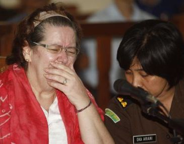 Briton Lindsay Sandiford at her trial for cocaine-smuggling
