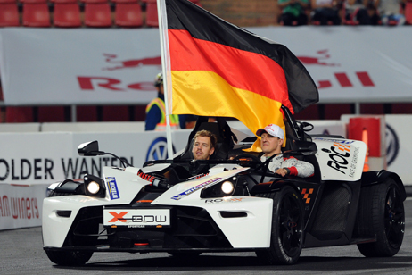 Vettel and Schumacher Win for Germany at the Race of Champions in Bangkok
