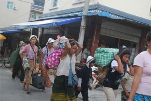 China is forcing back thousands of Kachin refugees fleeing ethnic violence