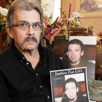 Leo John Del Pinto, 25, was killed Jan. 6 by an off-duty police officer of the Pai Police Department.