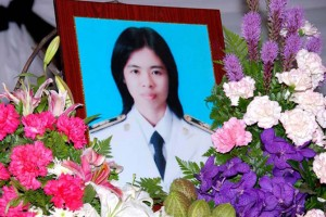 """Juling """"Teacher Jui"""" Pongkanmun  A teacher in Narathiwat, she was taken hostage in May 2006 and severely beaten by her captors. She died after spending eight months in a coma"""