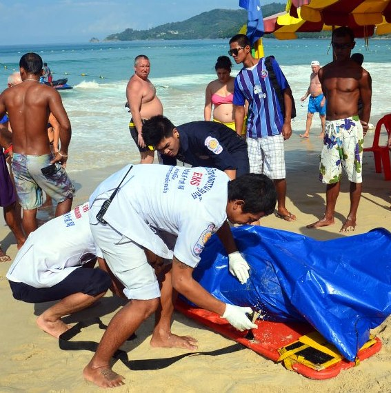27 Year Old Dutch Tourist Found Dead off Phuket's famous Patong Beach