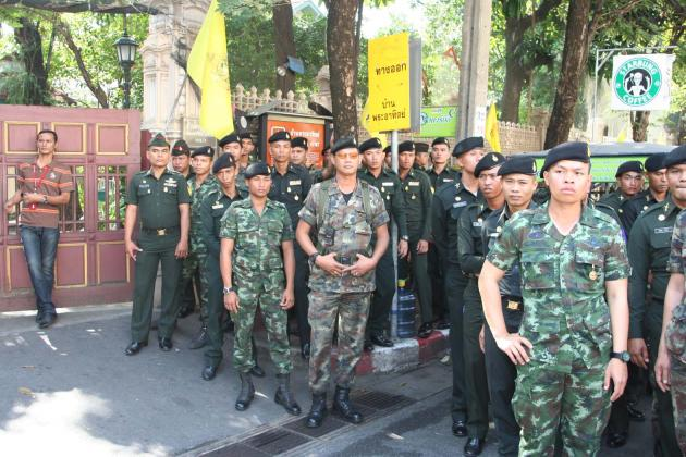 The Thai Journalists Association calls for the Army to Stop interfering in the Media