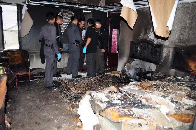 Grand Tower Inn Hotel Fire in Bangkok Act of Arsonist