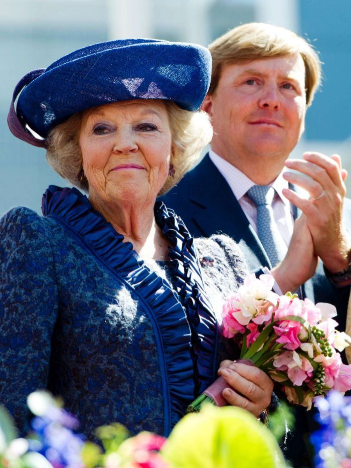 Netherlands' Queen Beatrix announced she will abdicate in favor of her son, Prince Willem-Alexander