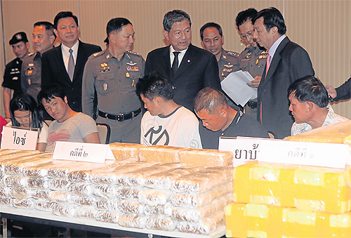 Major Drug Bust in Chiang Rai's Mae Chan District