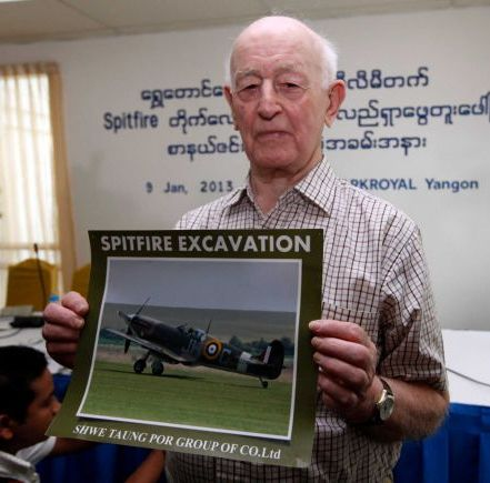 Discovery of Crate Spells Hope for Burma's Spitfire Hunters