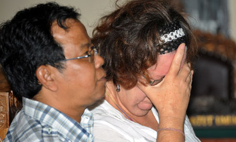 Lindsay Sandiford Sentenced to Death by Indonesian Court